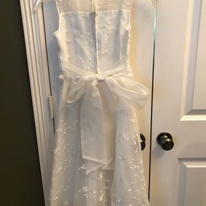 Us Angels Dresses - US Angels Girl's Special Occasion white Dress,  8